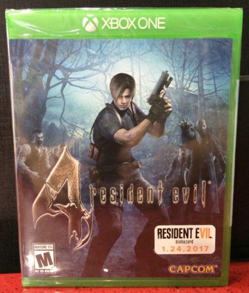 Xone Resident Evil 4 HD game