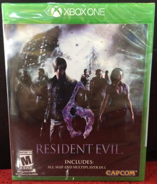 Xone Resident Evil 6 HD game