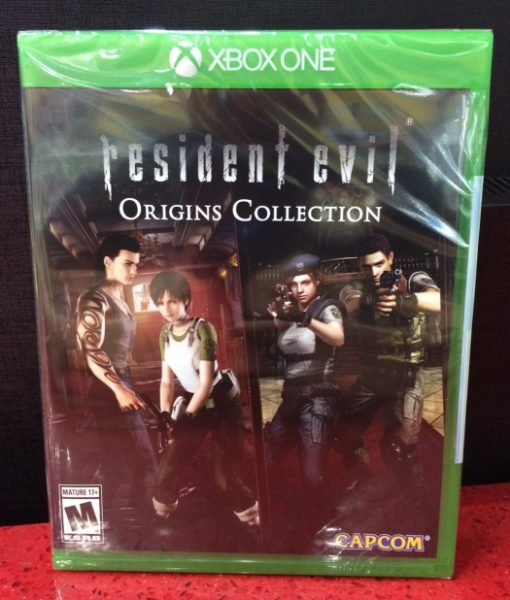 Xone Resident Evil Origins Collection game