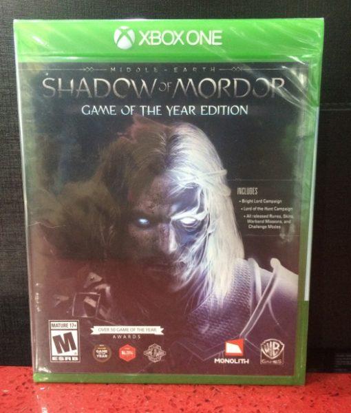 Xone Shadow of Mordor game