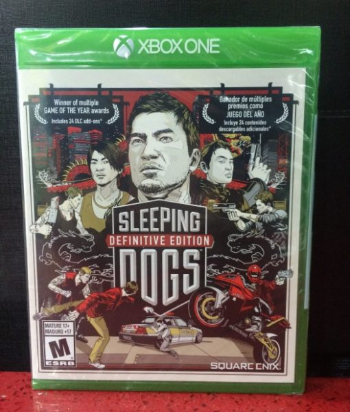 Xone Sleeping Dogs Definitive Edition game