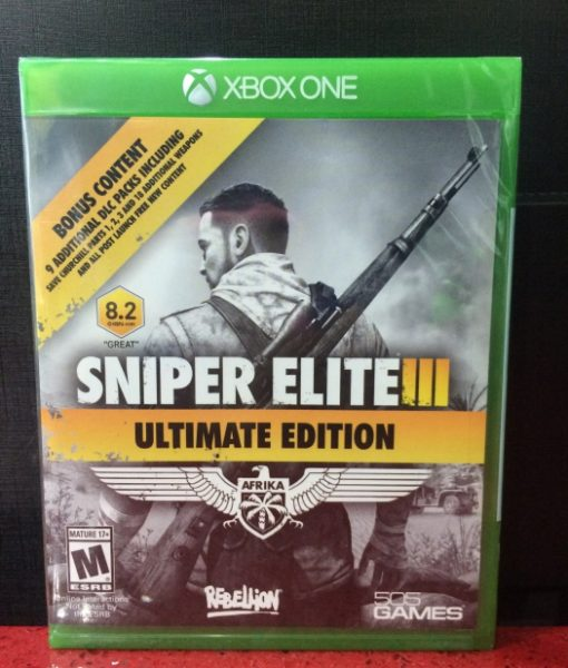 Xone Sniper Elite III Ultimate game