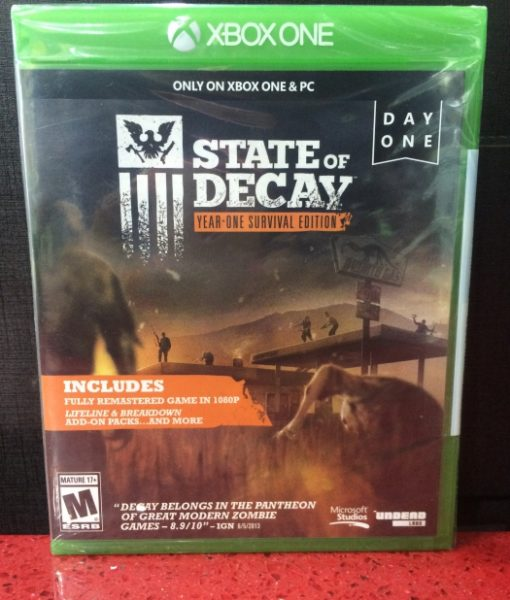 Xone State of Decay game