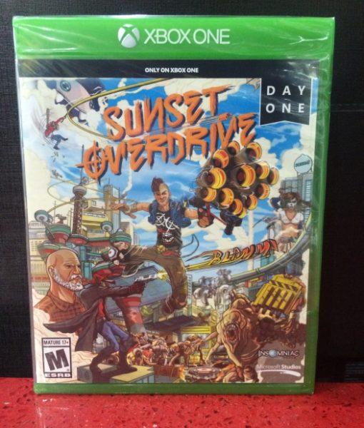 Xone Sunset Overdrive game