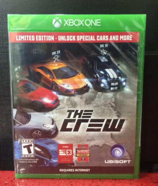 Xone The Crew Limited game