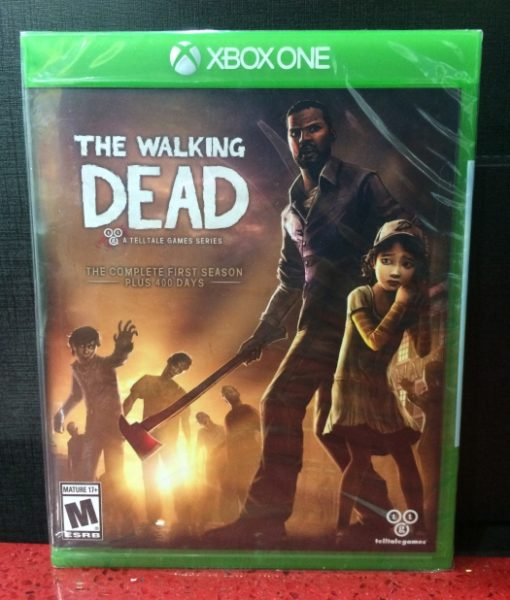 Xone The Walking Dead Season One game