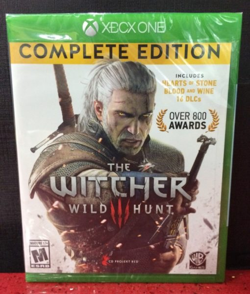 Xone The Witcher III Complete game