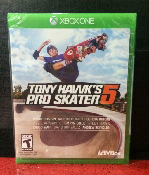 Xone Tony Hawks Pro Skater 5 game