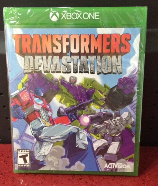 Xone Transformers Devastation game