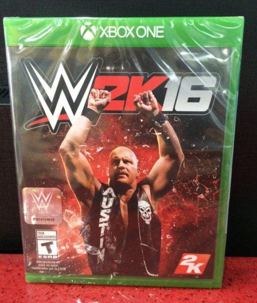 Xone WWE 2K16 game
