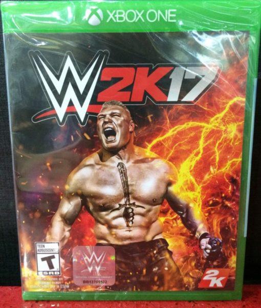 Xone WWE 2K17 game