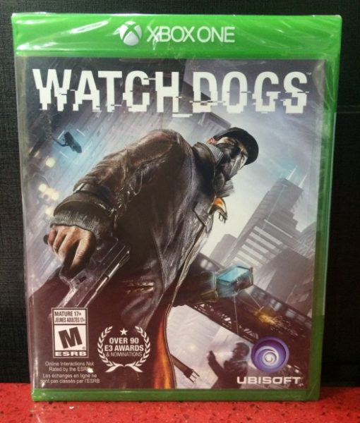 Xone WatchDogs game