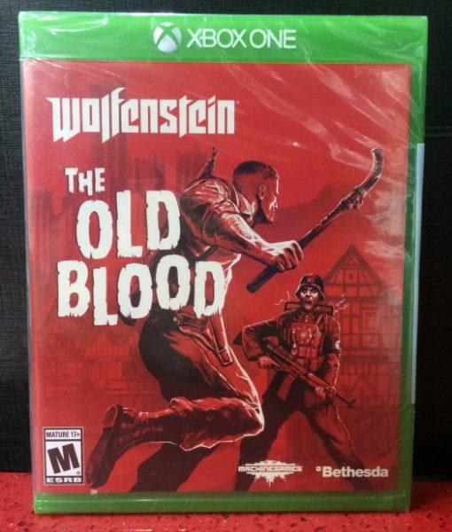Xone Wolfenstein The Old Blood game
