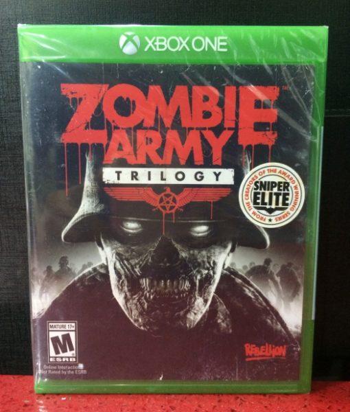 Xone Zombie Army Trilogy game
