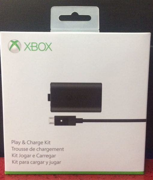 Xone item Cargador Play and Charge Kit Microsoft