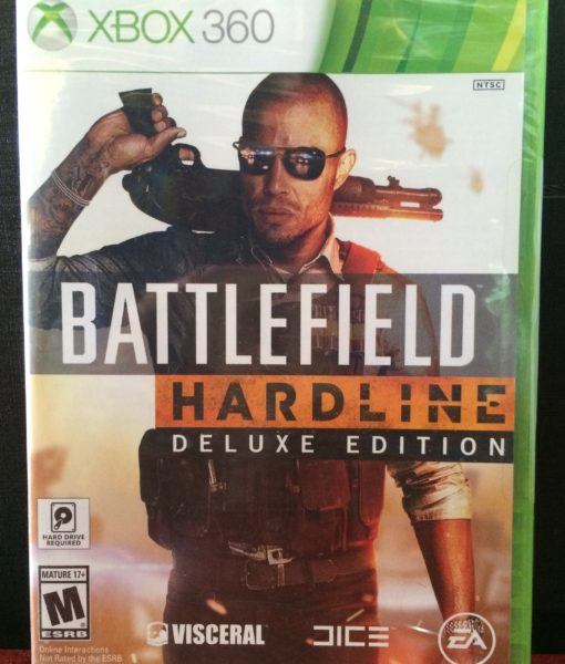 360 Battlefield Hardline game