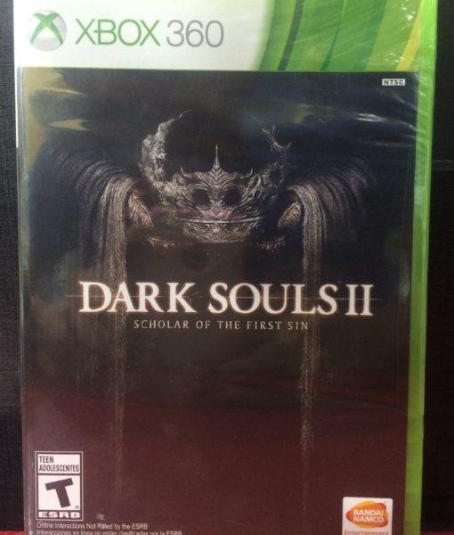 360 Dark Souls II Scholar of the First Sin game