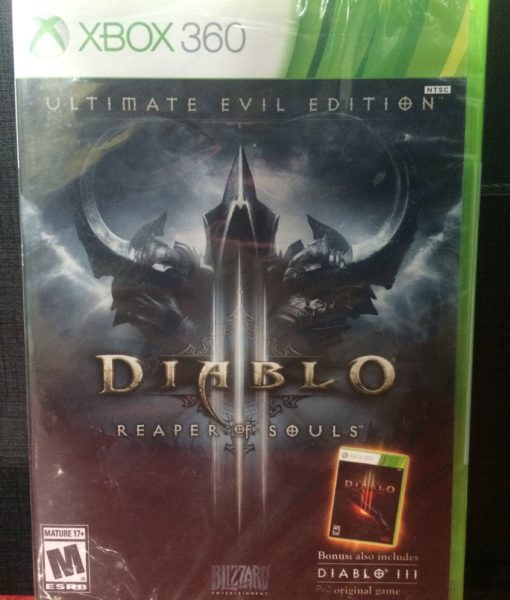 360 Diablo III Reaper of Souls game