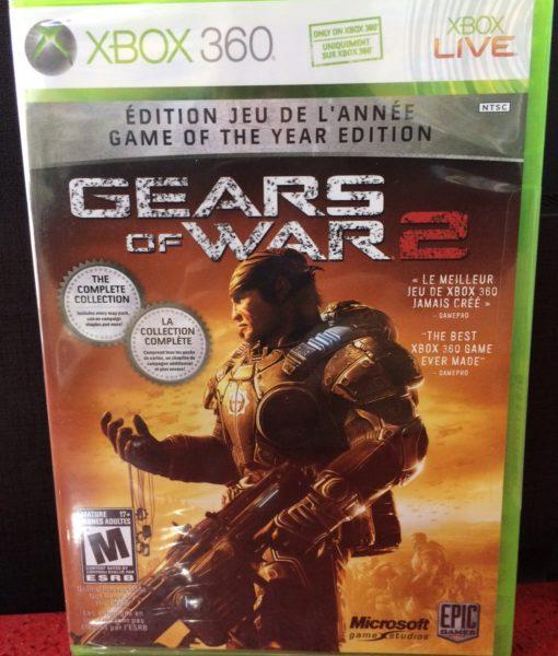 360 Gears of War 2 game