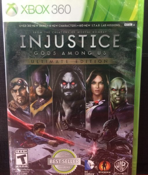 360 Injustice Ultimate Edition game