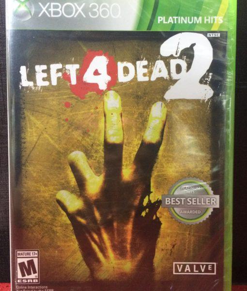 360 Leaft 4 Dead 2 game