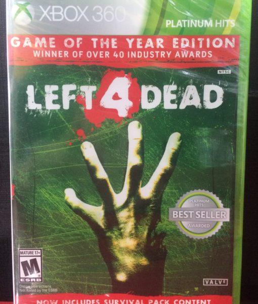 360 Leaft 4 Dead game
