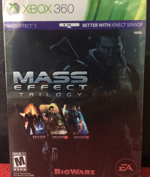 360 Mass Effect Trilogy game