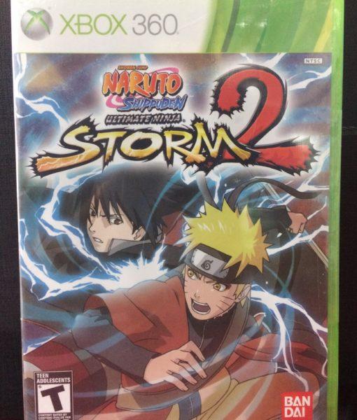 360 Naruto Storm 2 game