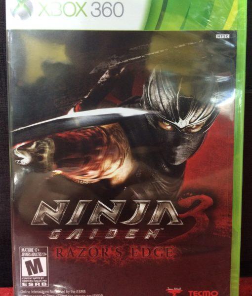 360 Ninja Gaiden 3 Razor Edge game