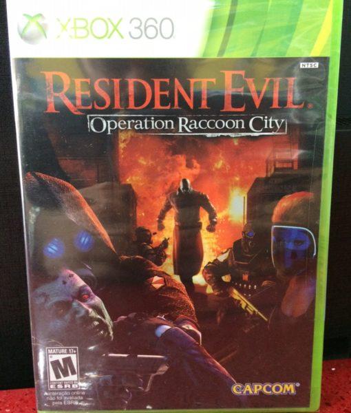 360 Resident Evil Raccoon City game