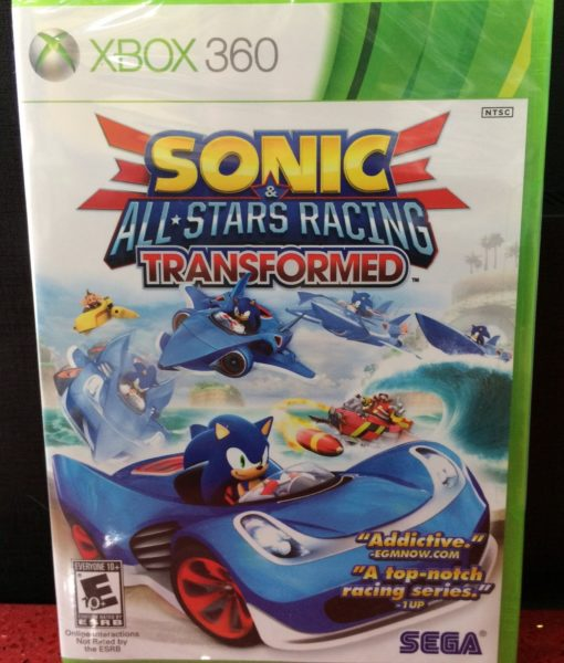 360 Sonic Stars Racing Tranformed game