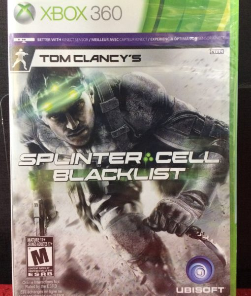 360 Splinter Cell Blacklist game
