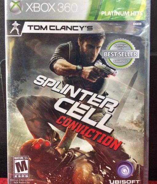 360 Splinter Cell Conviction game