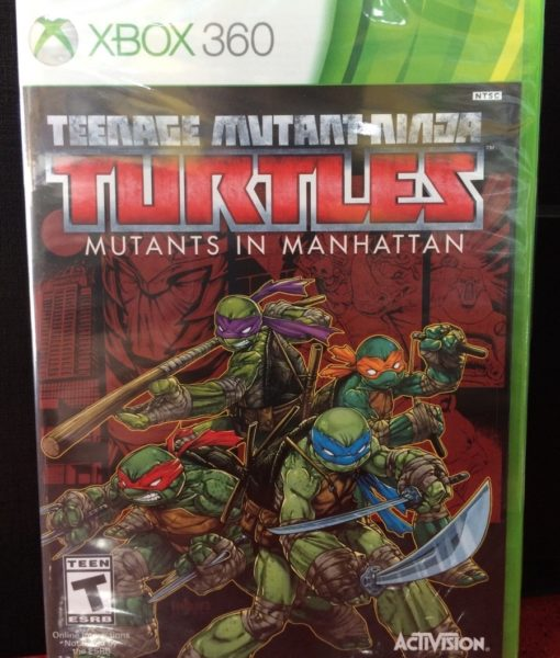360 Turtle Mutans in Manhattan game