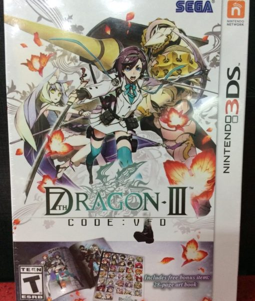 3DS 7TH Dragon III Code VFD game