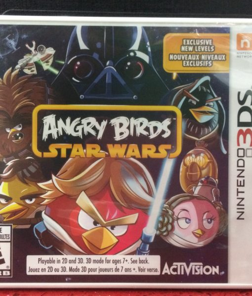 3DS Angry Birds Star Wars game
