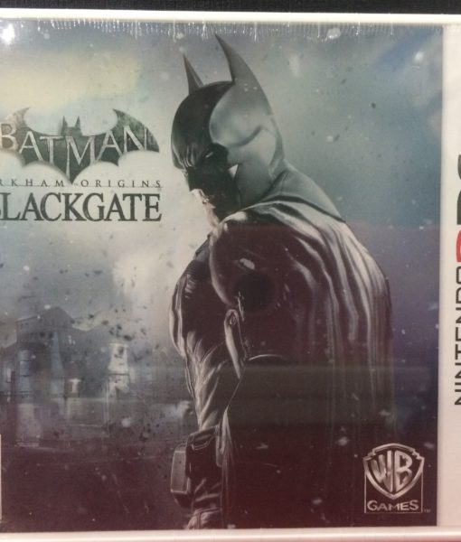 3DS Batman Arkham Origins BlackGate game