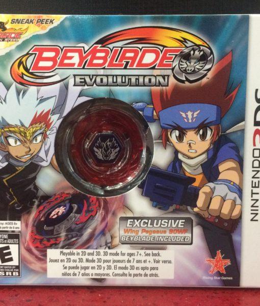 3DS BeyBlade Evolution game