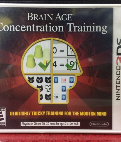 3DS Brain Age Concentration game