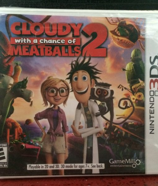 3DS Cloudy Meatballs 2 game