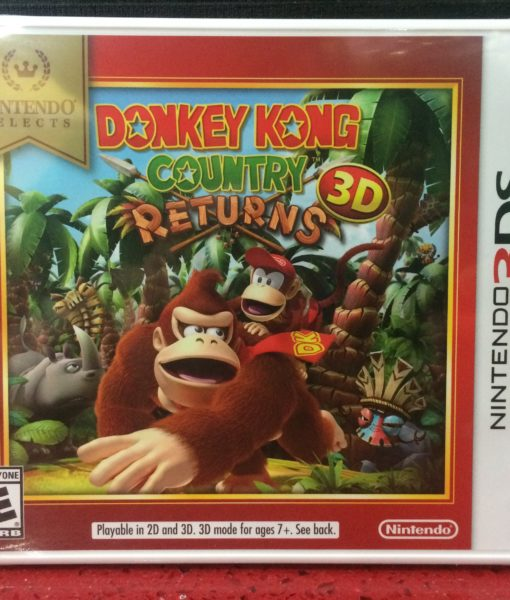 3DS Donkey Kong Country Returns game
