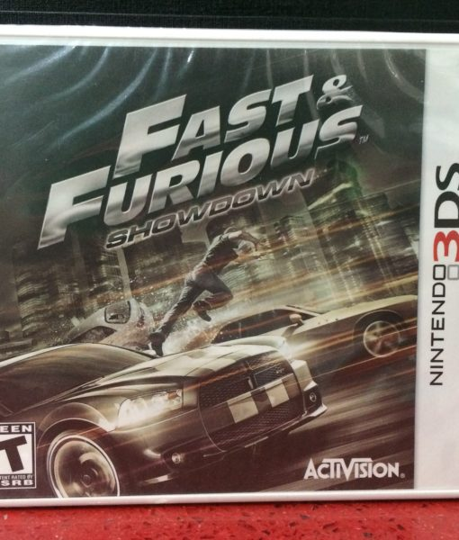 3DS Fast and Furios Shadown game