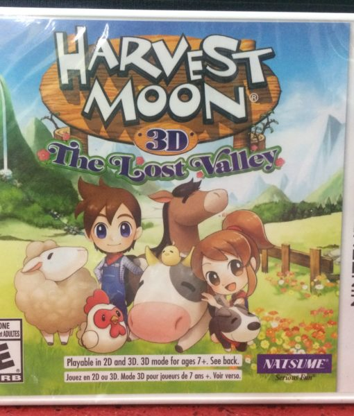 3DS Harvest Moon 3D Lost Valley game