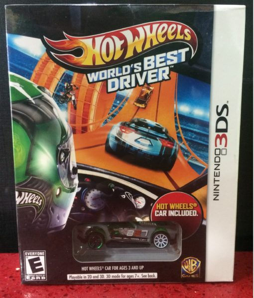 3DS Hot Wheels Worlds Best game