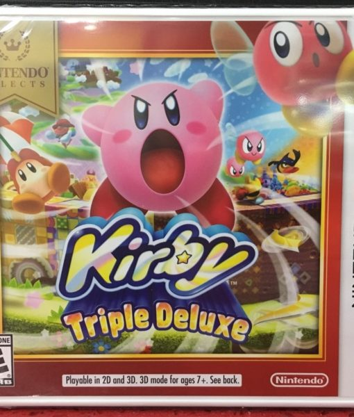 3DS Kirby Triple Deluxe game