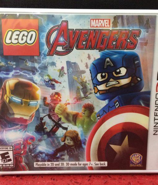3DS LEGO Marvel AVENGERS game