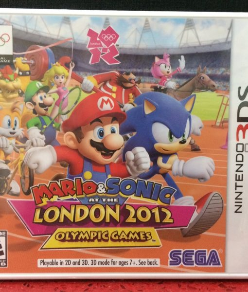 3DS Mario Sonic London 2012 game