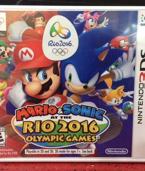 3DS Mario Sonic RIO 2016 Olympic game