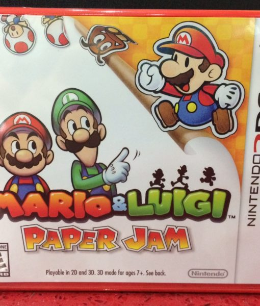 3DS Mario and Luigi Paper Jam game