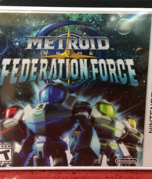 3DS Metroid Prime Federation Force game